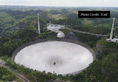 Catastrophic Collapse of Iconic Arecibo Radio-Telescope
